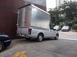 บริการรับจ้างขนของด้วยรถหลังคาสูงปลอดภัย